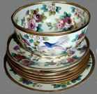 Noritake with birds