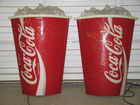 Light up Coke displays, 4 ft tall
