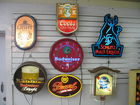 Vintage bar signs- lighted