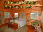 5 Pc Cottage Bedroom Set