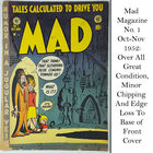 Nov 1952 First Edition Mad Magazine