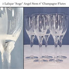Lalique Crystal Ange Angel stems