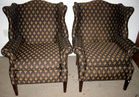 Pair of Fleur de Lis Chairs