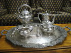 STERLING Tea Set, datedd 1896, 100 oz