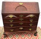Antique Boston Oxbow desk
