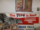 Firestone Tires banner signs