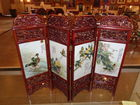 small Asian folding screen