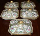 5 8in Rose Medallion cov dishes