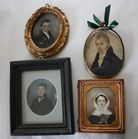 Collection of miniature portraits