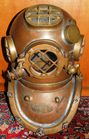 Morse Mark V Divers helmet