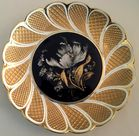 Meissen cobalt and gold plate