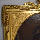 ornate gilt frame with crown finail