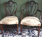 2 of 6 Potthast Bros dining chairs