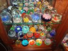Glass Paper Weight Collection