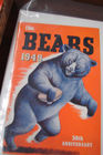 1940's - 60's Bears Football Progams