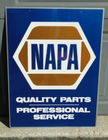 NAPA Double Sided Metal Sign 18 X 24