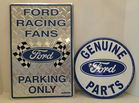 Ford Fans & Parts Signs