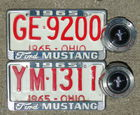 Mustang Gas Caps & Plate Holders