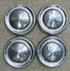 Set of 4 Ford Hubcaps 9 1/2""