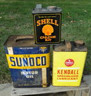 Sunoco, Kendall Oil Cans