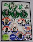 Lot# 31 - Lot of 18 Presidential Campaig