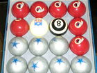 #21-Redskin - Dallas pool balls