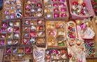 Vintage Christmas Ornaments Decorations