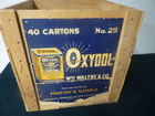 Oxydol Shipping Crate