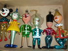 Figural Christmas Ornaments