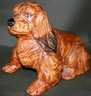 Weller Pottery rare terrier dog