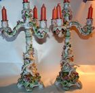 Pair of figural candelabra