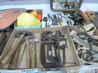 tools, C clamps, hammers