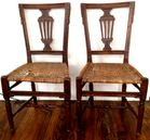 Pair of Continental cvd chairs