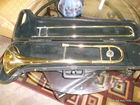 bach trombone with case