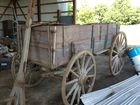 High Wheel Wood Wagon