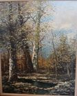 Signed PG Tiele birches