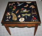 Needlepoint table