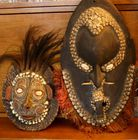 Carved masks