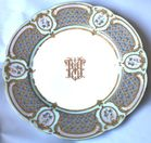 Set of Sevres plates