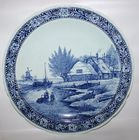 Blue Delft charger