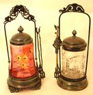 Victorian pickle casters