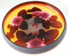 16 in Galle cameo glass Lotus lily