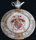 Armorial plate - export