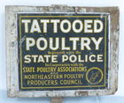 189A) Tattooed Poultry Sign
