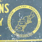 Ca 1930's, Tin sign affixed to