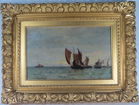 Lot 12) Walter Lofthouse dean seascape