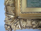 Period gold gilt frame