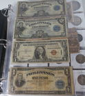 Lot 38) US & Foreign Currency 145 pcs