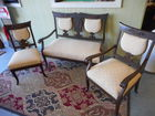 victorian parlor set from estate living