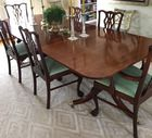 Williamsburg Baker inlaid dining table